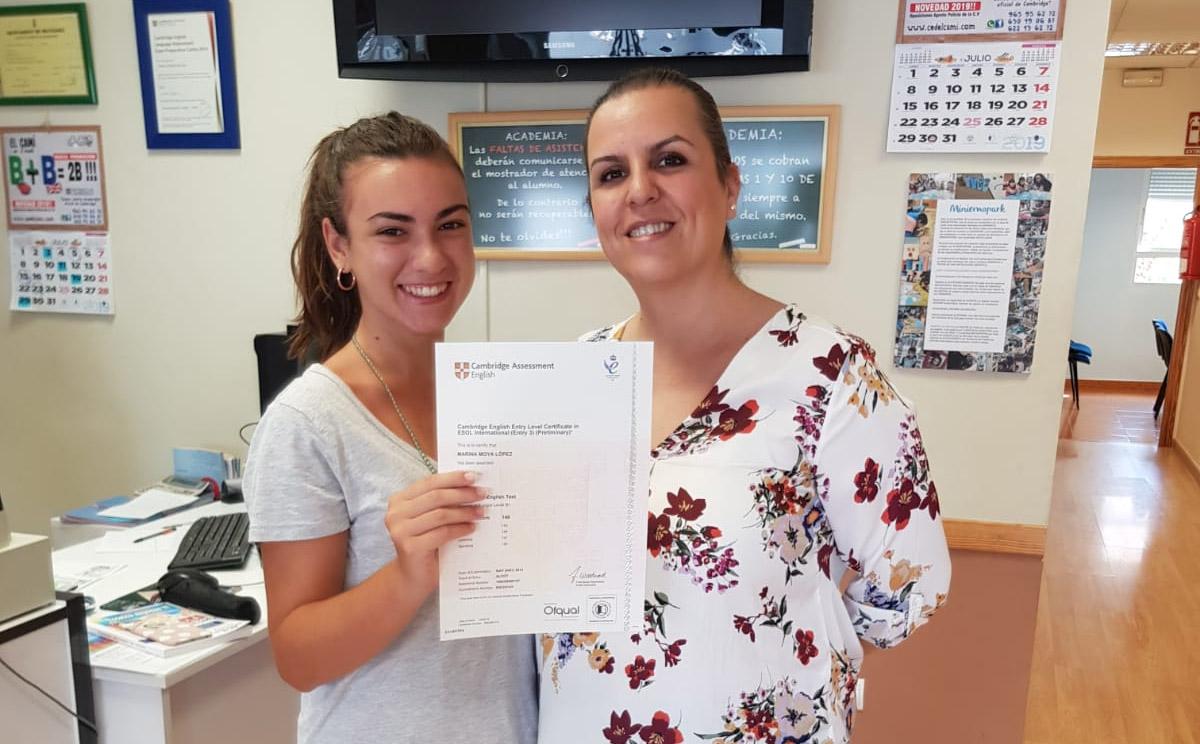 Certificación Cambridge Centro de Estudios Academia Formación Autoescuela en Mutxamel